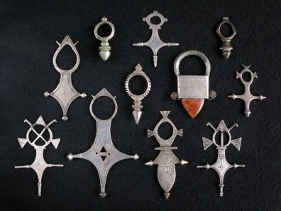 silver tuareg crosses