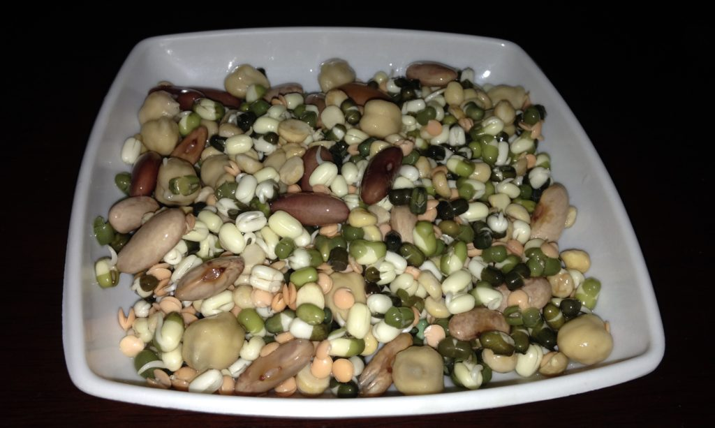 mixed beans for misal pav