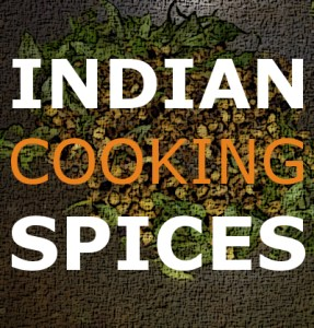 Indian cooking spices