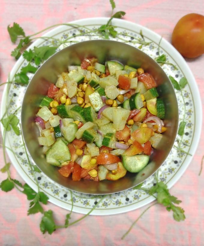 perfect cucumber tomato salad recipe