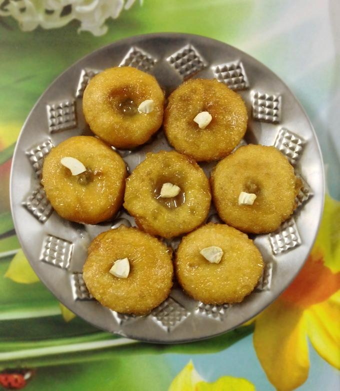 Balushahi sweet dish