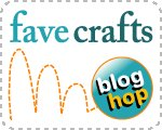 Blog Hop Button Finished on the 15th: FaveCrafts Blog Hop for April