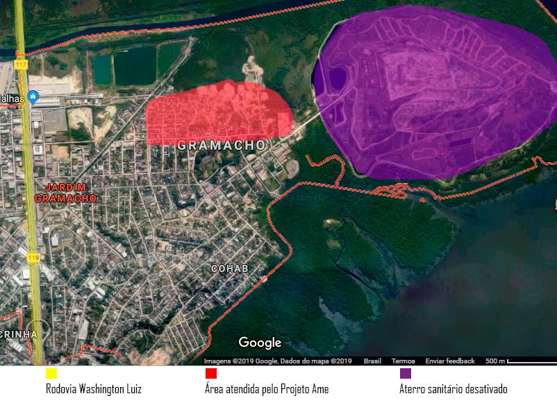 A Favela Parque Planetário, próxima do antigo lixão e distante dos olhos da prefeitura.