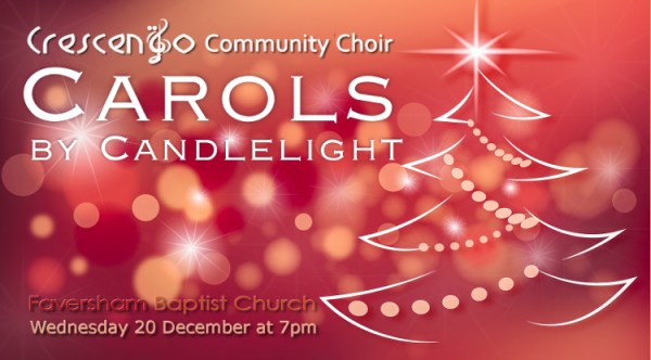 Carols by Candlelight with Crescendo Community Choir