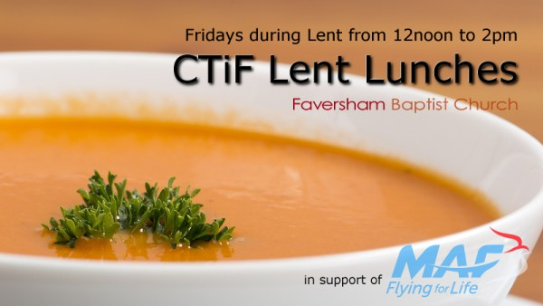 CTiF Lent Lunches 2018