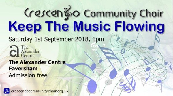 Keep The Music Flowing at the Alexander Centre