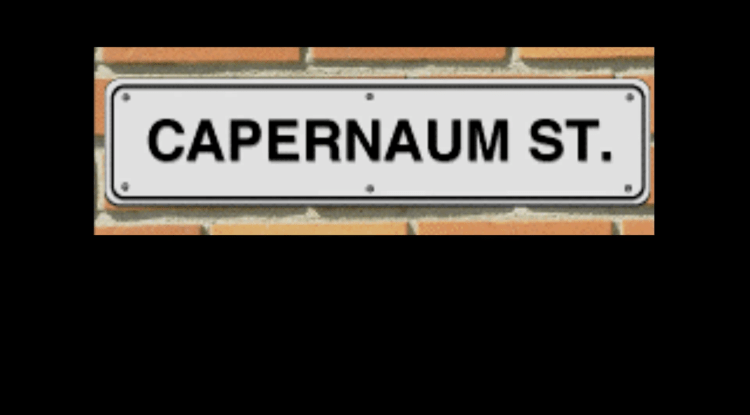 Capernaum Street 6: The Ascension