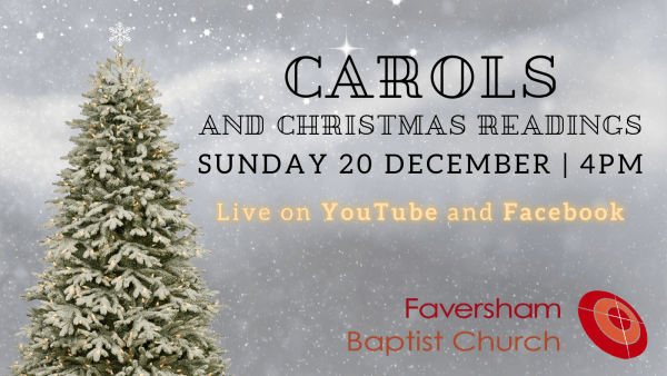 Carols and Christmas Readings 20 December 2020