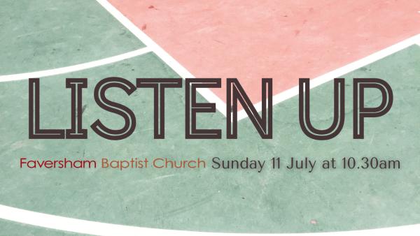 Sunday Worship 11 July 2021