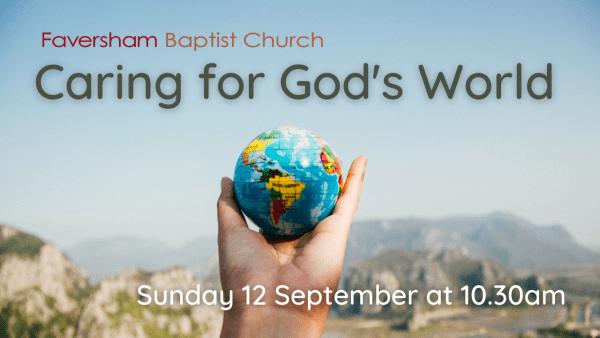 Sunday Worship 12 September 2021