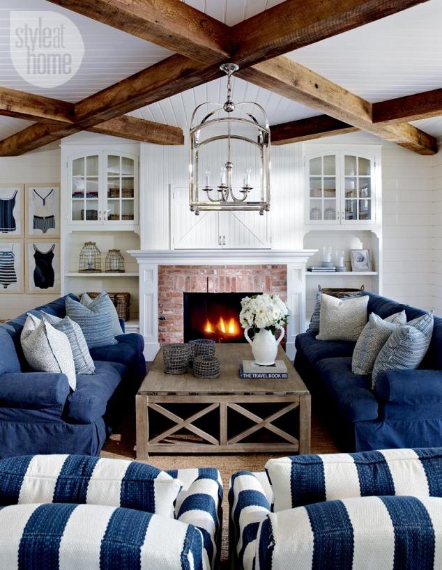 Coastal Style Livingroom