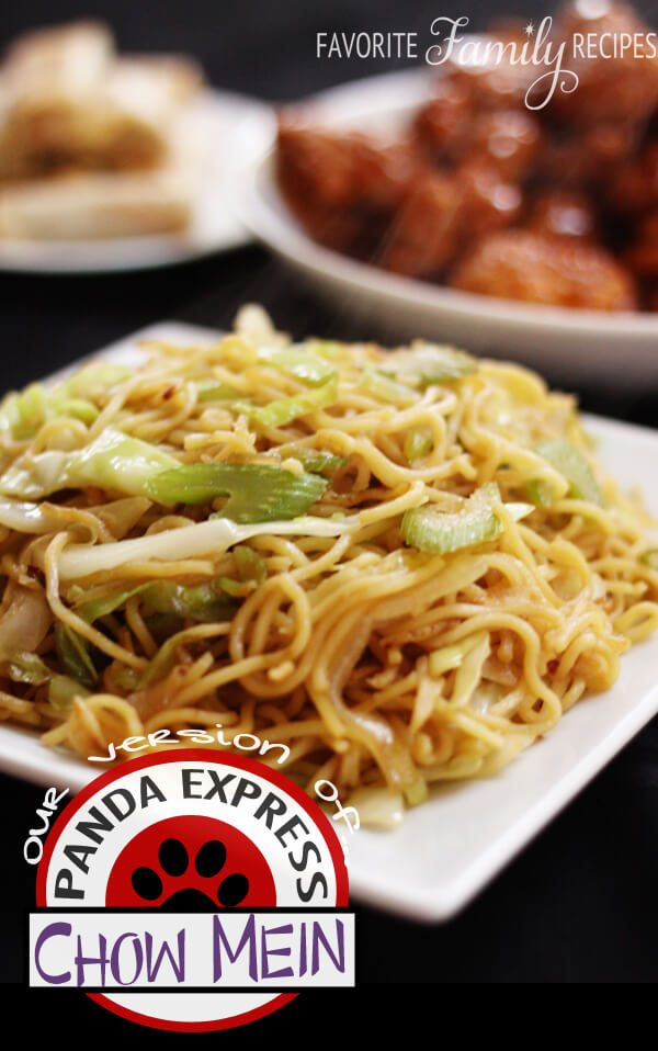 Panda Express Chow Mein from FavFamilyRecipes.com