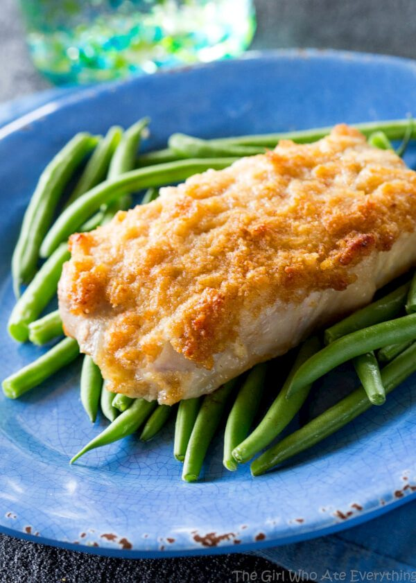 horseradish crusted pork chops