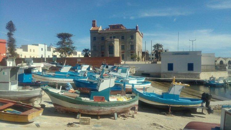 Porto Pescherecci Favignana