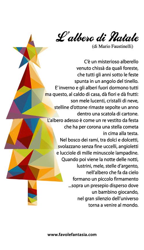 Poesie e canzoncine di natale in inglese, tutte utili per aiutare. L Albero Di Natale Favole E Fantasia