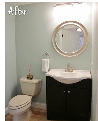 Rainwashed Blue Bathroom Favorite Paint Colors Blog
