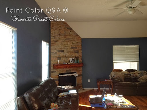 Paint color q a living room favorite paint colors blog - Living room paint colors for 2014 ...