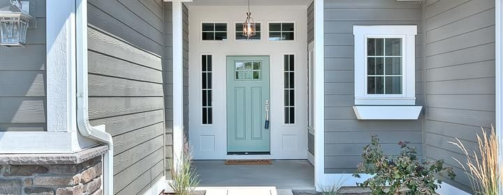 Wythe Blue {exterior front door color}