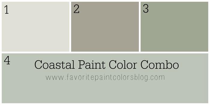 Coastal Paint Color Combination Favorite Paint Colors Blog