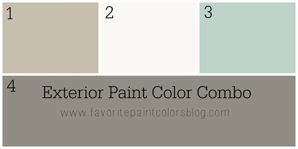 Exterior color combo - classic gray