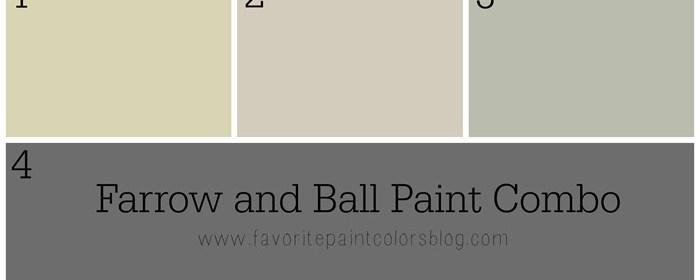 Farrow and Ball Paint Combination