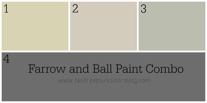 Farrow and Ball Paint Combo