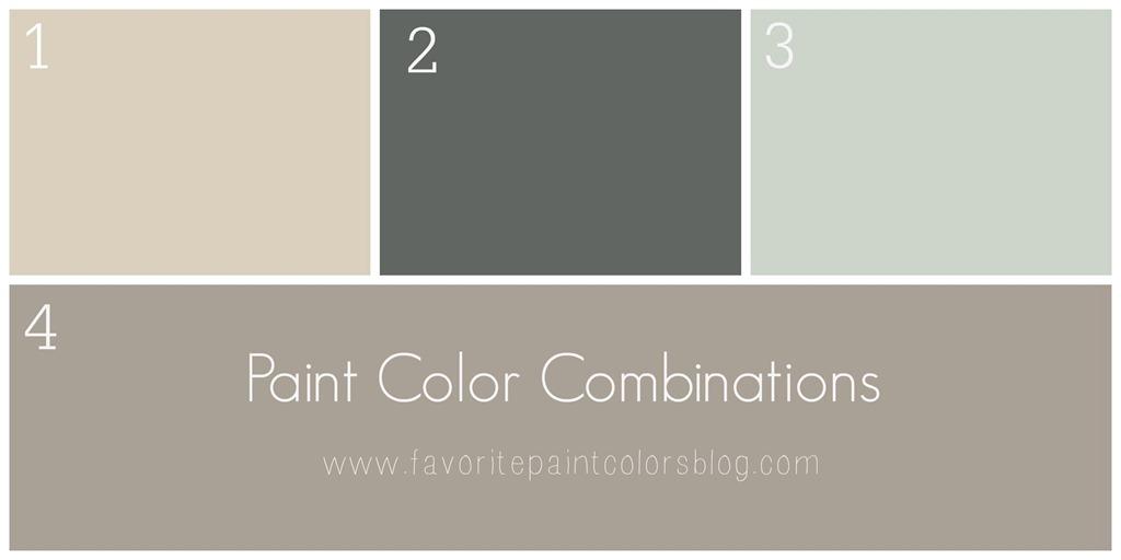 Paint Color Combinations All Month Long Favorite Paint Colors Blog