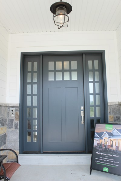 exterior door paint color