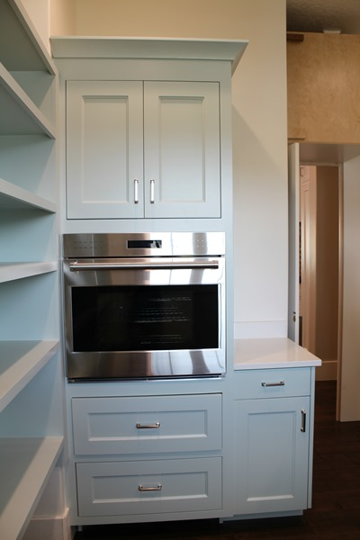 cabinets in pantry