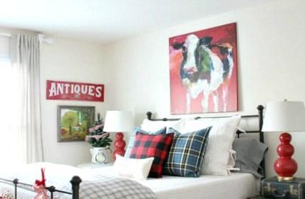Christmas guest room paint colors