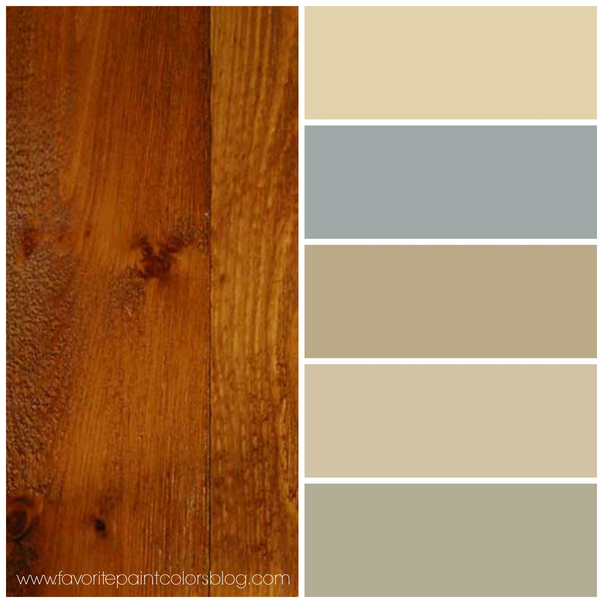 Wood trim favorite paint colors blog for Best paint for wooden floors