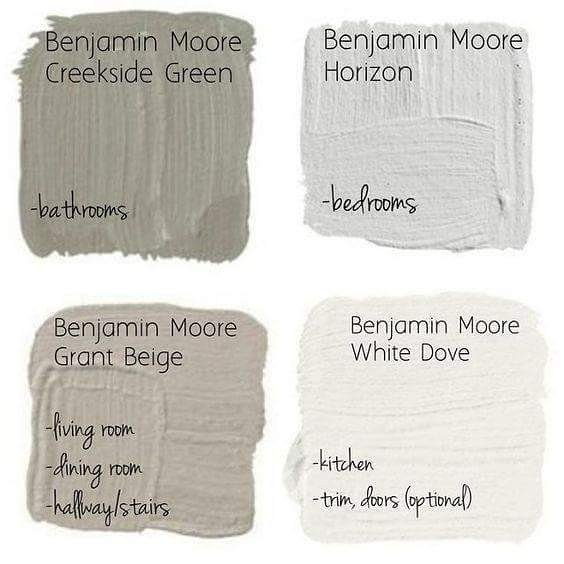 paint color palettes to sell your home....fast