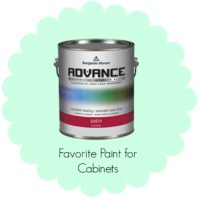 favorite paint for cabinets