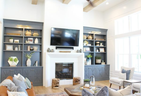Great room farmhouse paint colors