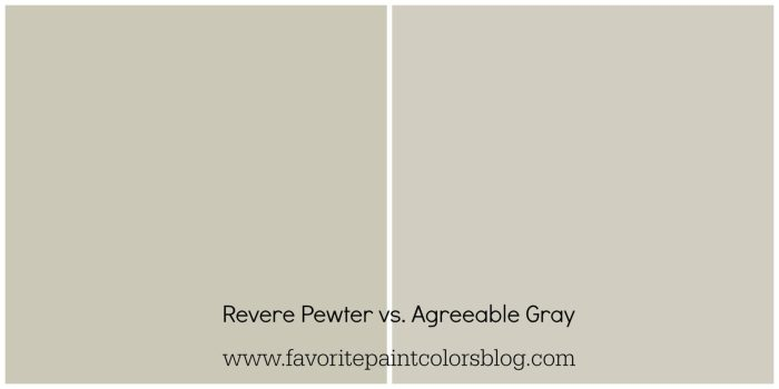 Agreeable Gray Vs Revere Pewter Why I Changed My Mind Favorite Paint Colors Blog,Kitchen Light Fixtures Led