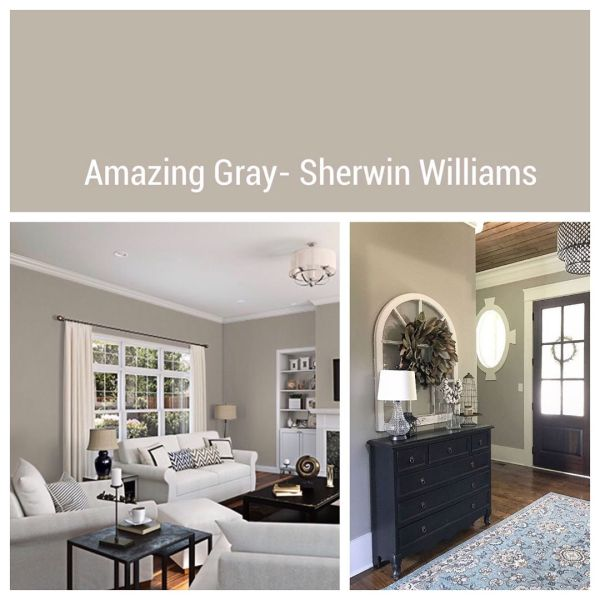 Amazing Gray by Sherwin-Williams