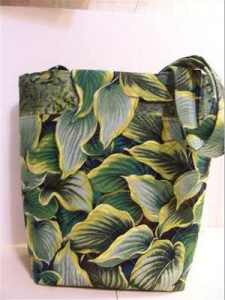 Hosta Leaf Purse