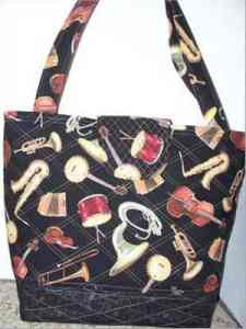 Musical Themed Tote