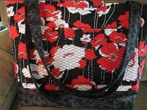 Poppy Fabric Purse