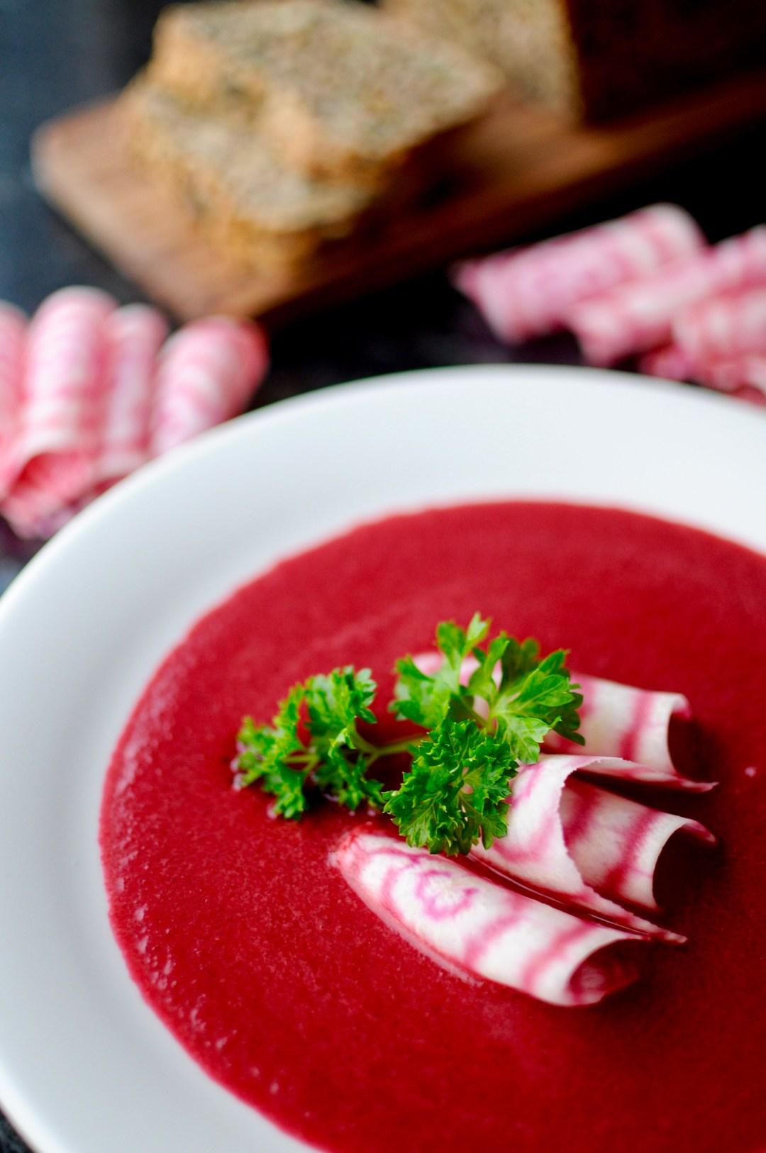 Rødbetsuppe