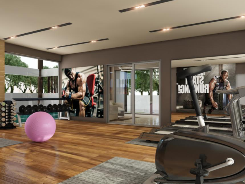 The Serene Bay by Favourite Homes - Private Gym