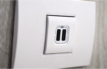 USB Port - Amenities - The Carmel Heights
