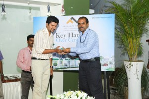 Irish Isle Key Handing Over