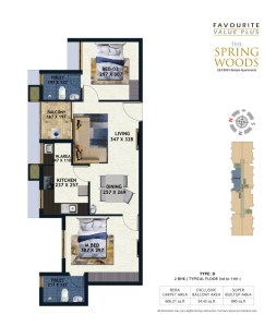 Spring Woods Floor Plan
