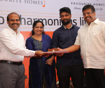 THE SERENADE by FAVOURITE HOMES key hand over