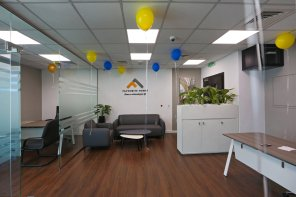 Martin Thomas E, Managing Director, Favourite Homes inaugurating the brand new office of Favourite Homes in Dubai, UAE
