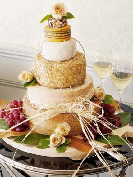 Rustic-Cheese-Wedding-Cake
