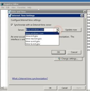 Settingan waktu di VPS Windows yang berubah ubah