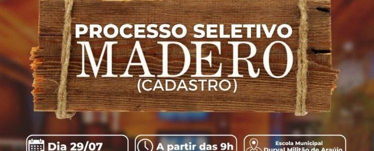 Prefeitura de Salgado anuncia parceria com Grupo Madero