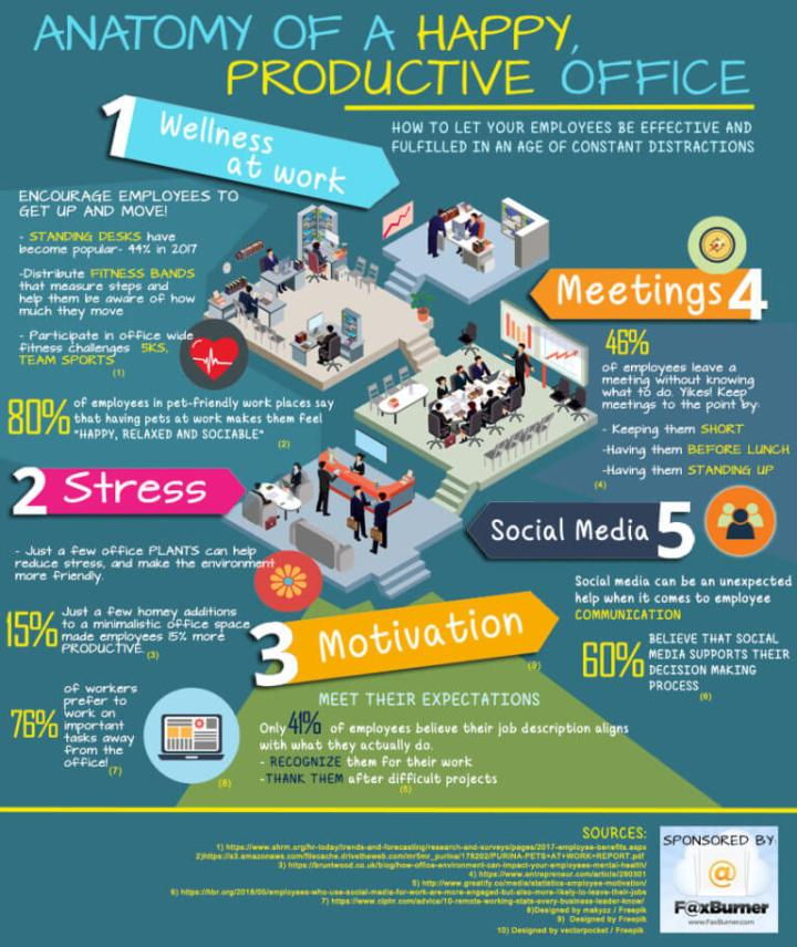 Anatomy of a Happy, Productive Office